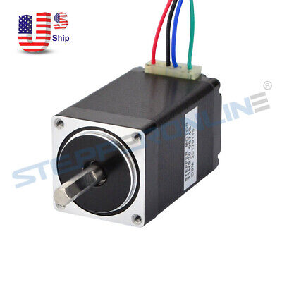 Nema 11 Stepper Motor 1.8deg 0.67a 12ncm17oz-in 51mm 4-wire Diy Cnc 3d Printer