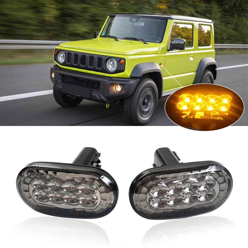 Suzuki Jimny FJ White LED /'Trade/' Wide Angle Side Light Beam Bulbs Pair Upgrade