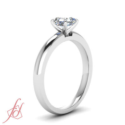 Affordable 0.33 Ctw Asscher Cut Solitaire Diamond Rings For Mothers GIA VVS2 2