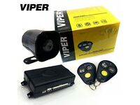 Viper 3100V Car Van Security Alarm System With 2 Remote Shock Sensor & Siren Supplied & Fit