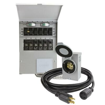 Reliance 30 Amp 250-volt 7500-watt Non-fuse 6-circuit Transfer Switch Kit