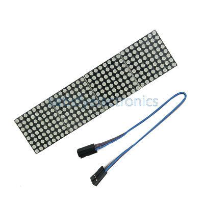 1pcs Max7219 Dot Matrix Module Arduino Microcontroller Module 4 In One Display N