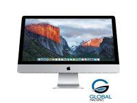 Apple iMac **Slim iMac** 27 inch i5 Quadcore 3.4 Ghz 16gb Ram 1TB HD Logic9 Adobe FinalCutProX