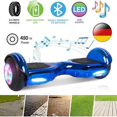 6,5 Zoll Hoverboard Elektro Scooter Balance ElektroRoller Skateboard Kinder Blau