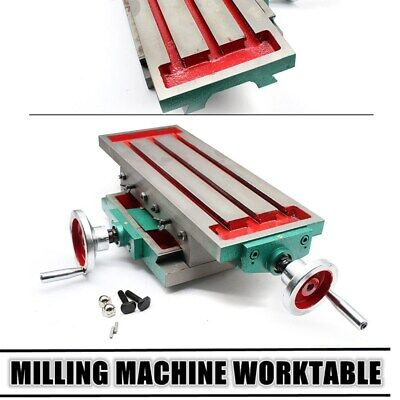 Precise Drilling Milling Machine Compound Work Table Cross Slide Bench 450170mm