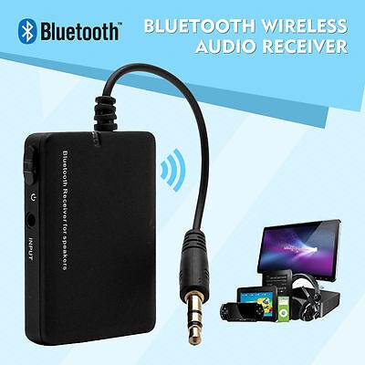 Mini Bluetooth Audio Adapter für Stereoanlage - Musik Empfänger mit 3.5mm Klinke