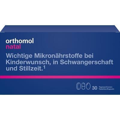 Orthomol Natal, 30 Porciones Pastillas/Cápsulas, 00775994