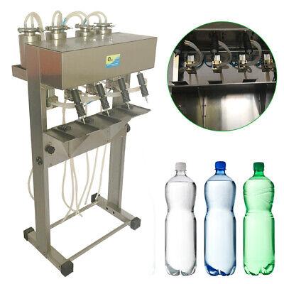2-unlimited Vacuum Pneumatic Liquid Filling Machine Liquid Glass Bottle Filler