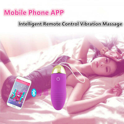 Female Wearable ABS Smart Phone APP Remote Control Rechargable Vibrator in Panty