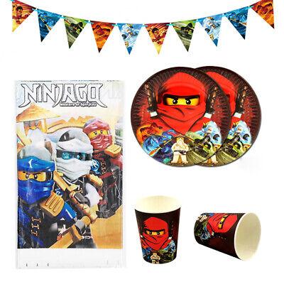 26pcs Red Kai Jay Ninjago Ninja Theme Party - Ninja Party
