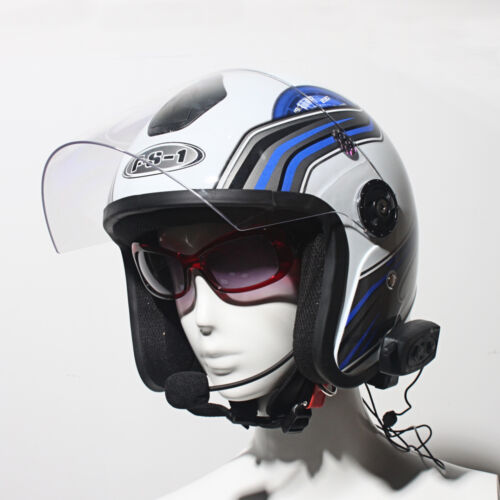 2x BT 1200M Bluetooth Motorcycle Helmet Intercom Interphone Headset V2 2 Riders