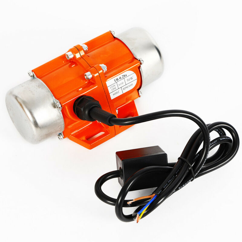 40/50/100W 1 Phase AC Vibrating Asynchronous Vibration Motor 3600 RPM Noiseless