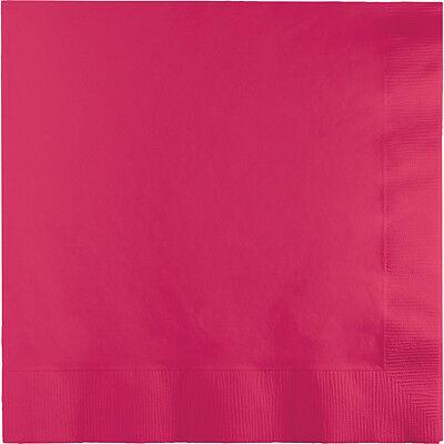 50 Hot Magenta Pink Birthday Party Tableware 6.5