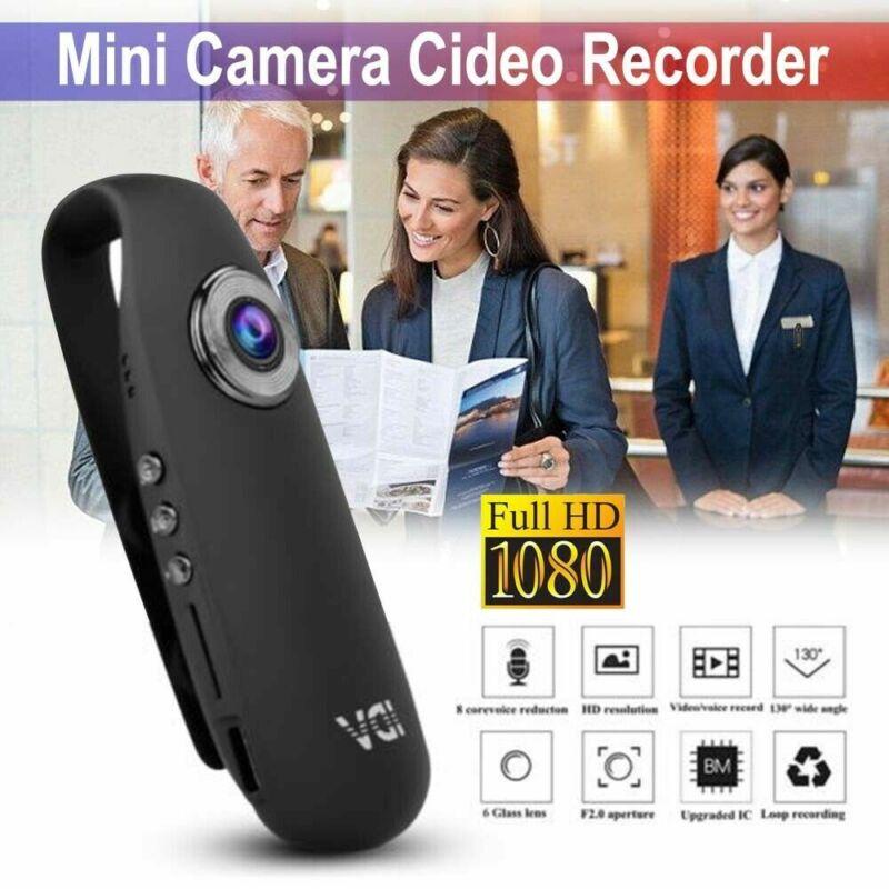 HD 1080P Mini SPY Dash Cam Camcorder Body Motorcycle Bike Motion Action Camera