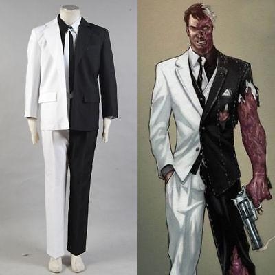 Batman Two-Face Harvey Dent Cosplay Costume Tie Jacket - Harvey Two Face Kostüme