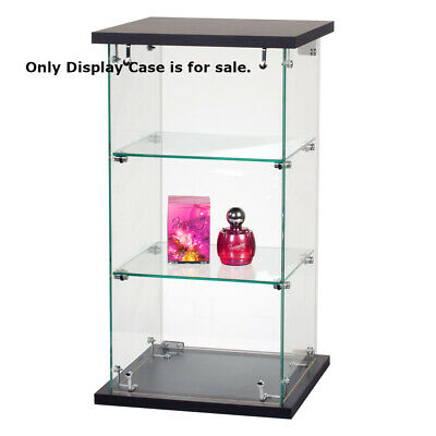 Assembled Countertop Glass Display Case 13 W X 13 D X 24 H Inches