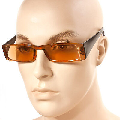 New ANTI GLARE COMPUTER READING GLASSES TINTED LENS 1.50 +2.00 +2.25 +2.50 (Yellow Tinted Reading Glasses)