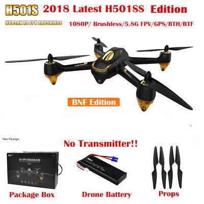 Hubsan H501S X4 FPV Drone 1080P Camera GPS RC Quadcopter Headless Follow Me BNF