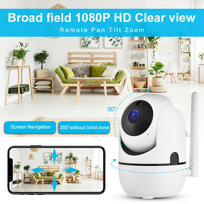 Used, IP WiFi Wireless P2P Home Security Baby Monitor WLAN Night Vision Camera AH663 for sale  Shipping to Nigeria