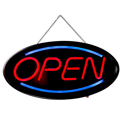 Ultra Bright Animated Led Open Store Shop Business Sign Neon Lights 19x10