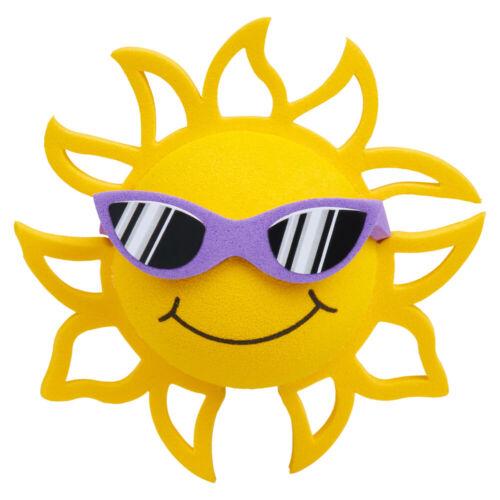CoolBalls Sunshine Car Antenna Ball / Desktop Stand (Fits Thick Antenna)(Purple)