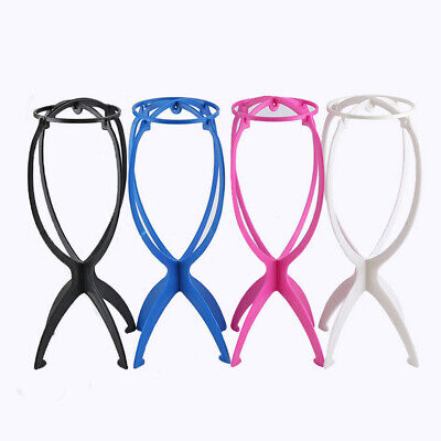 Wig Stand Portable Foldable Wig Holder Support Display Stand Hair Accessories   ()