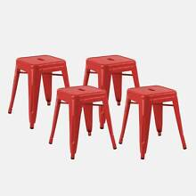 OVERSTOCK - 2X Replica Tolix Cafe Counter Stools 45cm/65cm - WOW Sydney City Inner Sydney Preview