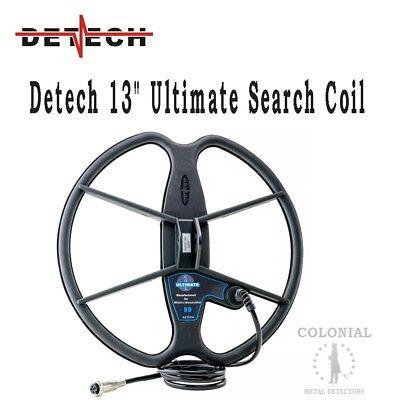 """Detech 13"""" DD Ultimate Search Coil - Fisher F75, F75 LTD, F70"""
