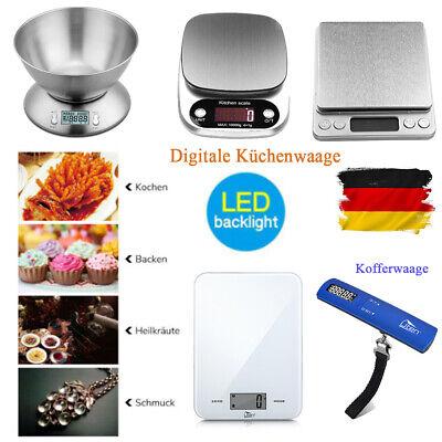 Uten Digitale Küchenwaage Haushaltswaage Feinwaage Kitchen LCD Digitalescale Neu Küchenwaage