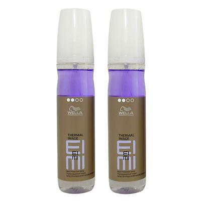 Hitze-schutz-spray (2 x 150 ml Wella Eimi Thermal Image Hitzeschutzspray Set)