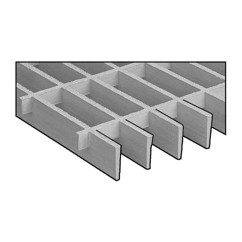 RIGIDEX 874010 Moltruded Grating,Span 4 ft.
