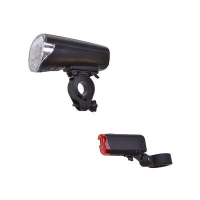Fahrrad LED Beleuchtung Licht mit STVZO-tauglich inkl. Batterien 30 Lux