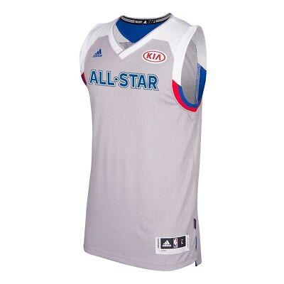 NBA Eastern All Star Adidas Grey 2017 Official Climacool Swingman Jersey