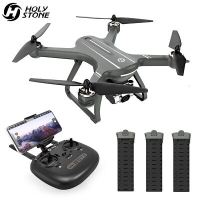 Holy Stone HS700D GPS 2K camera drone brushless 5G wifi FPV quadcopter 3 battery