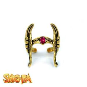 NEW Masters of the Universe SHE-RA Helmet Ring One Size - Licensed by Han Cholo