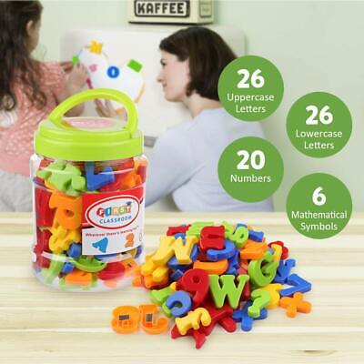 Plastic Magnetic Letters (Educational toys For Kids Magnetic Letters Numbers Alphabet Fridge Magnets)