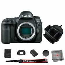 Canon EOS 5D Mark IV Digital SLR Camera Body + Professional Photography Bag