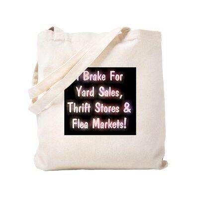CafePress I Brake For Yard Sales, Thrift Stores Fl Tote Bag (1199734075) (Adult Store For Sale)
