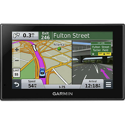 "Garmin nuvi 2589LMT 5"" GPS Navigation System with Bluetooth Lifetime Maps"
