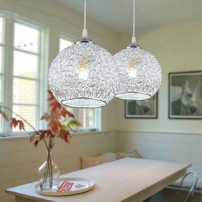 220V LED E27 Lampadario Cristallo da Soffitto Sospensione Luce di Pendente