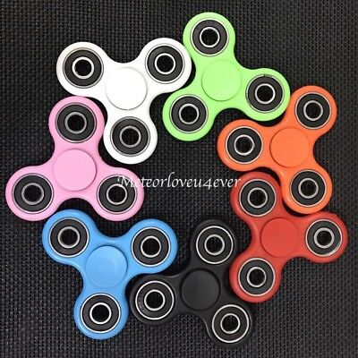 Tri Fidget Hand Spinner Focus Desk Toy EDC ADHD Autism KIDS ADULT Gift US Seller
