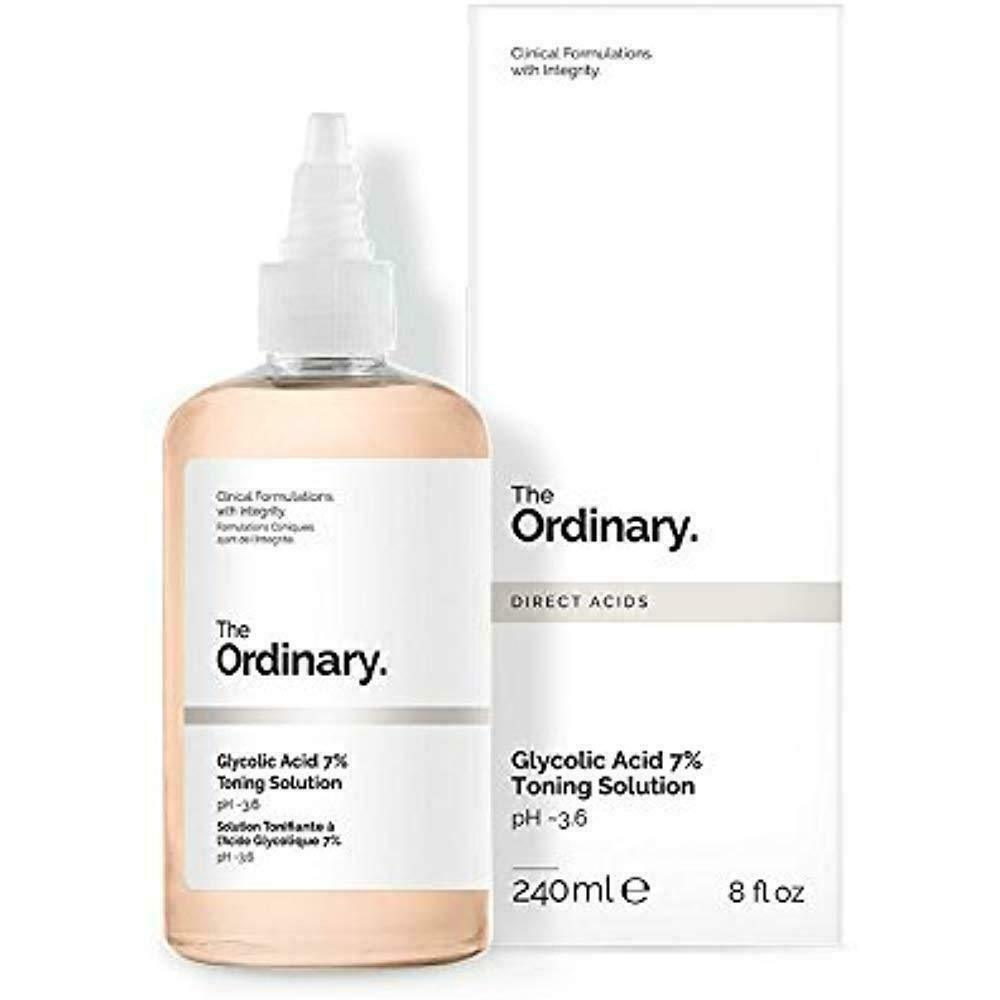 The Ordinary - Glycolic Acid 7% Toning Solution - 2 DAY FREE
