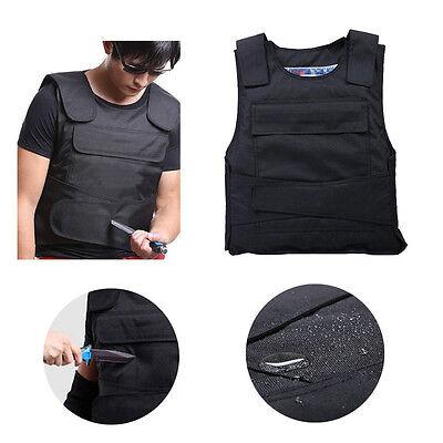 Proof Anti Stab Vest Outdoor Vest Anti Knife Guard Jacket Self-defense Vest UK