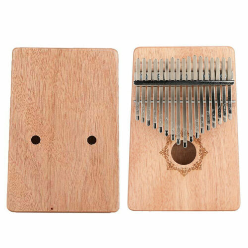 17 Keys Wooden Kalimba Thumb Finger Piano Portable Kid/Adult Beginner Profession