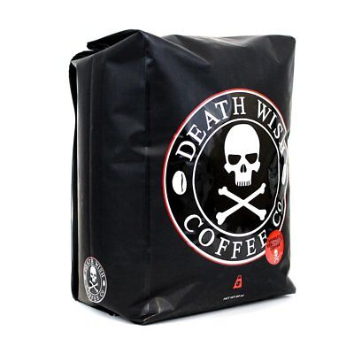Death Wish Coffee Company   Worlds Strongest Coffee  5 Pound Ground
