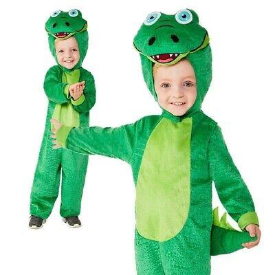 Kinder Krokodil Kostüm Tier Dschungelbuch Wochentag Zoo Jungen Kostüm - Kinder Dschungel Kostüm