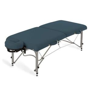NEW EARTHLITE Luna Portable Massage Table Package Lightweight Aluminum Frame 26lb Face Cradle Carry Case up to 600lb ...