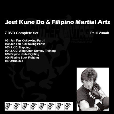 Paul Vunak's Jeet Kune Do and Filipino Martial Arts (7 DVD Set)