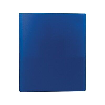Staples Tri-fold Pocket Folder Dark Blue 951442