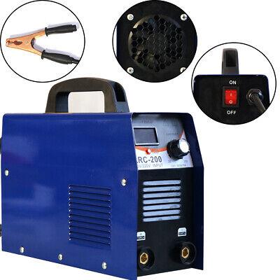 110v 200amp Mmaarc Stick Dc Igbt Inverter Welder Dual Voltage Welding Machine